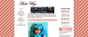 Arda Wigs New Front Page Preview